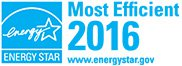 Energy Star 2016 Most Efficient
